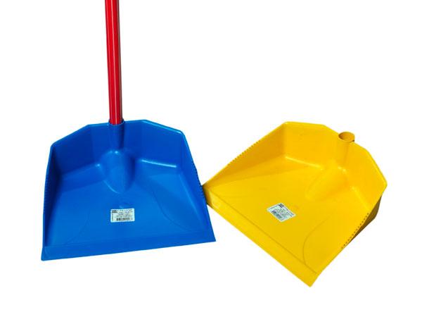 Pá de lixo Plástica cabo longo grande (com cabo) Coa Fácil - Ref.: 22